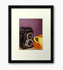 Argus Argoflex E and Coffee Framed Print