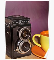 Argus Argoflex E and Coffee Poster