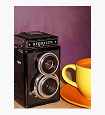 Argus Argoflex E and Coffee Photographic Print