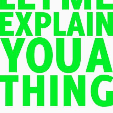 I can explain (green) by pospreterito