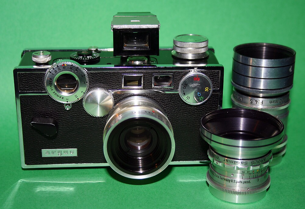 Argus C3 with Lenses by wayneyoungphoto