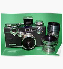 Argus C3 with Lenses Poster
