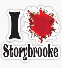 That show that you love where everyone keeps getting their hearts ripped out. Sticker