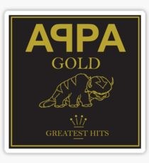 Appa Gold Sticker