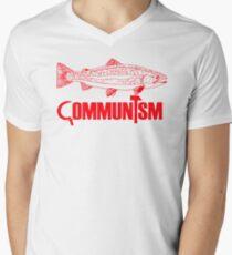 "Movie Clue ""Communism was just a red herring"" Men's V-Neck T-Shirt"