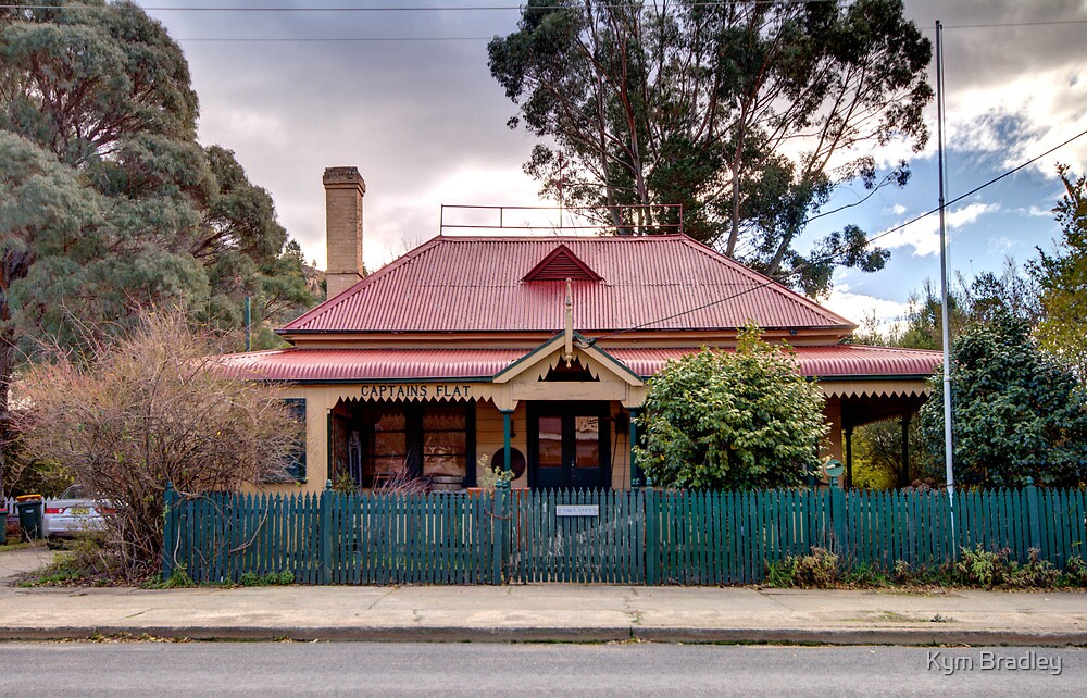 Captains Flat  Post Office NSW Australia  by Kym Bradley