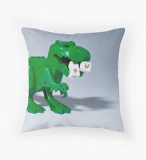 Beware of dinosaurs Throw Pillow