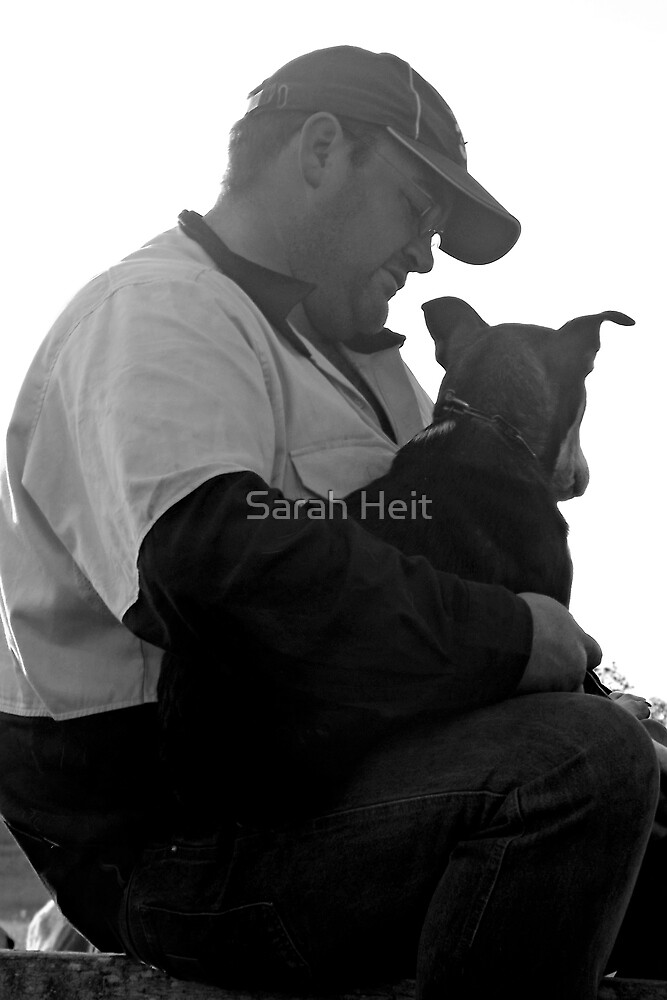 A Man and His Dog by Sarah Heit