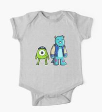 Monsters Short Sleeve Baby One-Piece