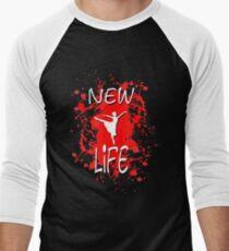 New Life Men's Baseball ¾ T-Shirt