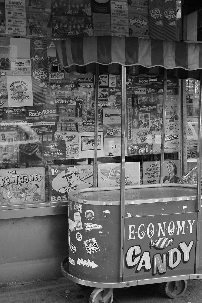 Economy Candy, Lower East Side, NYC by Rachael Mullins