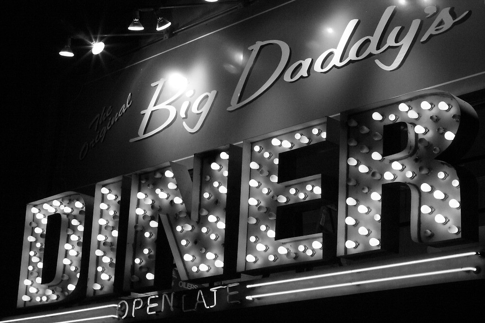 Big Daddy's Diner, Gramercy Park, NYC by Rachael Mullins