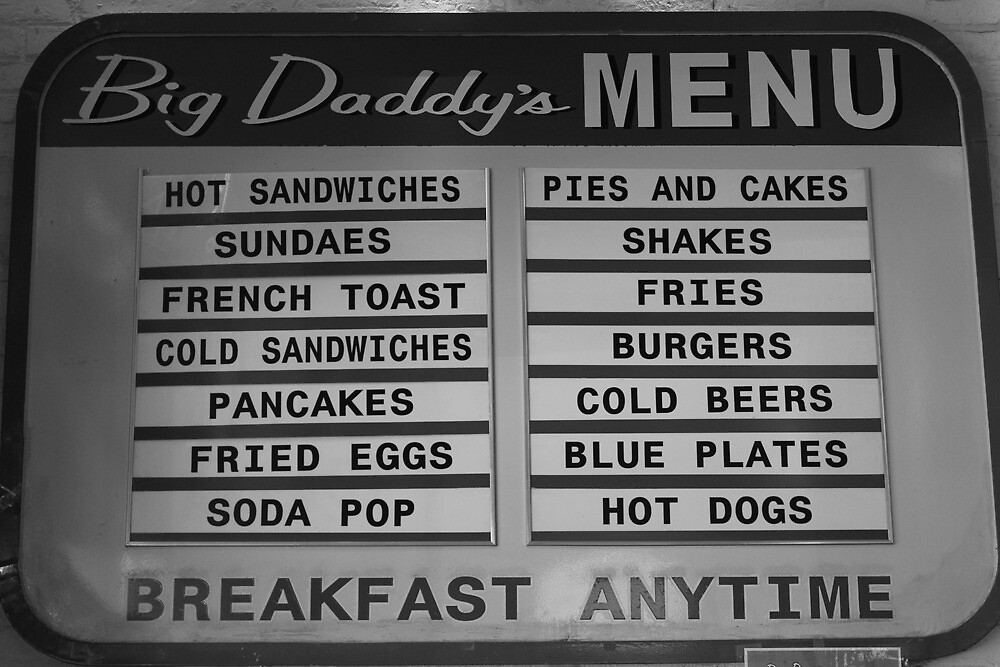 Breakfast anytime, Big Daddy's Diner, NYC by Rachael Mullins