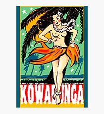 Kowabunga! Photographic Print