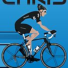 Chris Froome by Andy Scullion