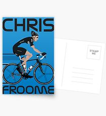 Chris Froome Postcards