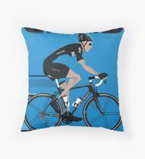 Chris Froome Throw Pillow