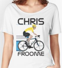 Chris Froome Yellow Jersey Women's Relaxed Fit T-Shirt