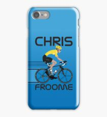 Chris Froome Yellow Jersey iPhone Case/Skin