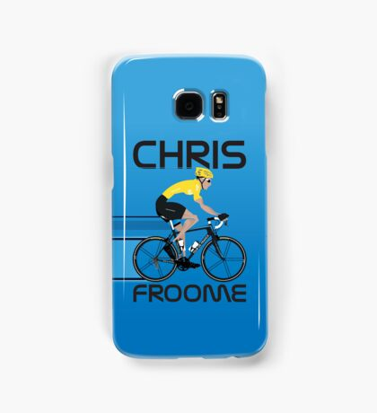 Chris Froome Yellow Jersey Samsung Galaxy Case/Skin