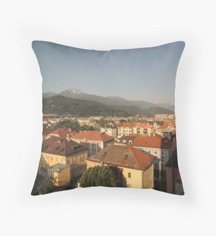 Innsbruck Morning Throw Pillow