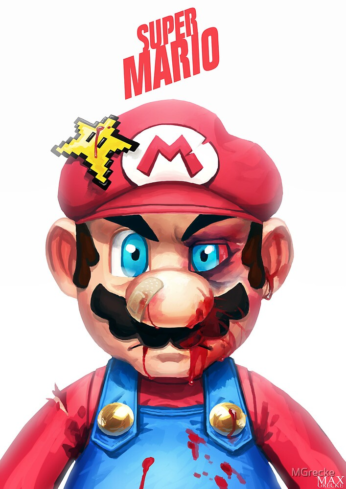 Beat Up Mario by MGrecke