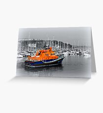 Brixham Lifeboat Greeting Card
