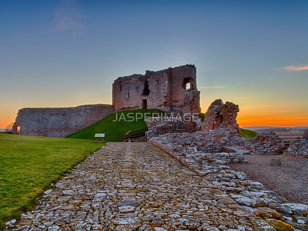 DUFFUS - THE CASTLE SUNSET by JASPERIMAGE