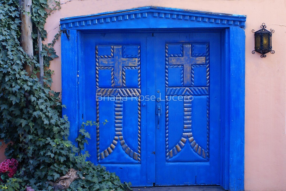 Southwest Door II by Briana Rose Lucero