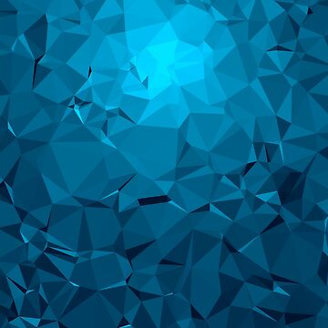 Geometric Blue by MrJaMilne