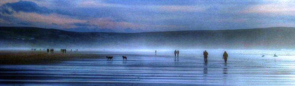 Woolacombe beach by teejay1980