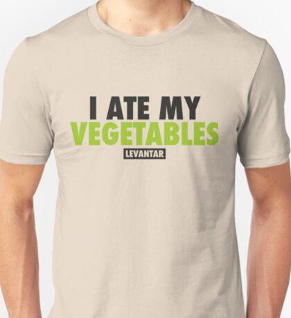 I Ate My Vegetables (Black) T-Shirt