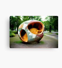 Kungsparken Gothenburg Canvas Print
