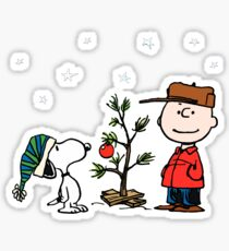 A Charlie Brown Christmas Sticker