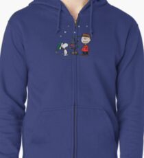A Charlie Brown Christmas Zipped Hoodie