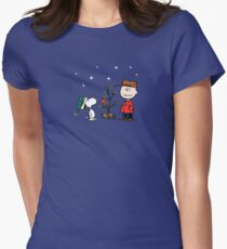 A Charlie Brown Christmas Women's Fitted T-Shirt