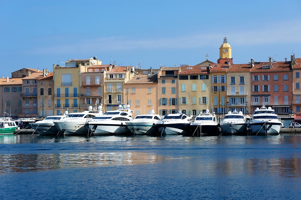 St Tropez yachts by PlanetFranck