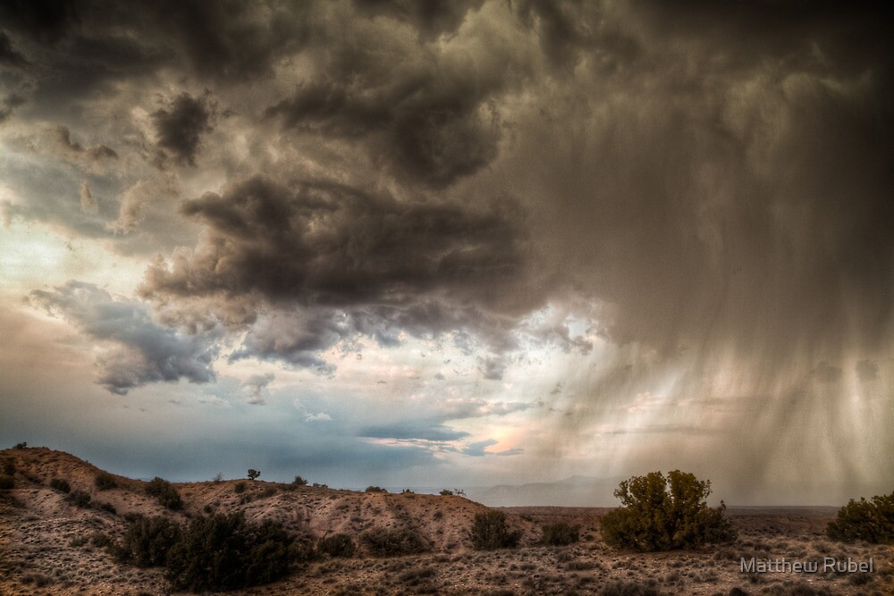 Albuquerque Rainstorm by Matthew Rubel