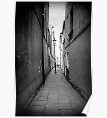 The hidden alley  Poster