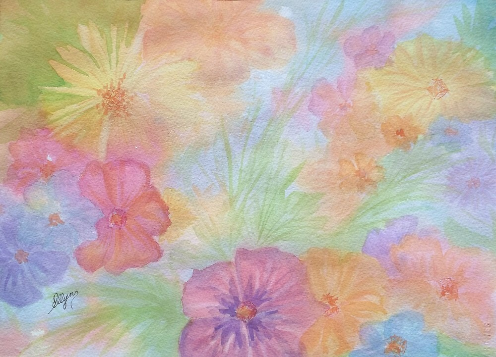 Blossoms II by Ellen Levinson