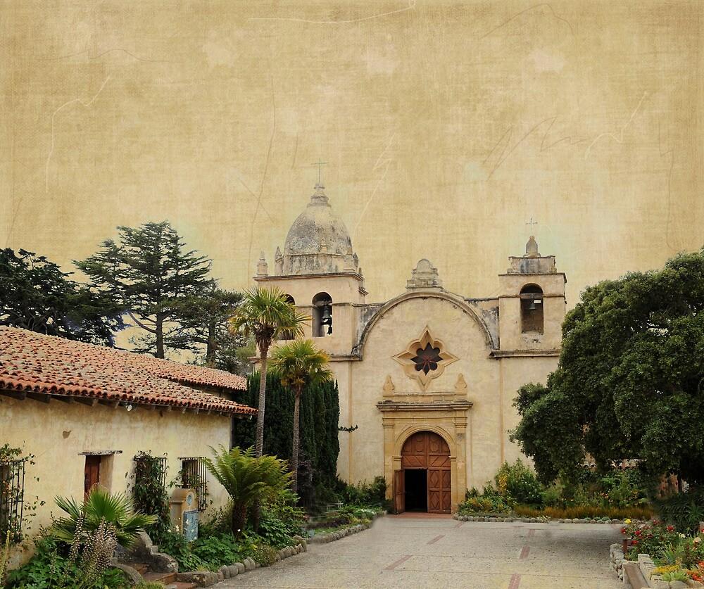 Historic Mission San Carlos, Carmel-by-the-Sea, Ca - 1 by korinneleigh