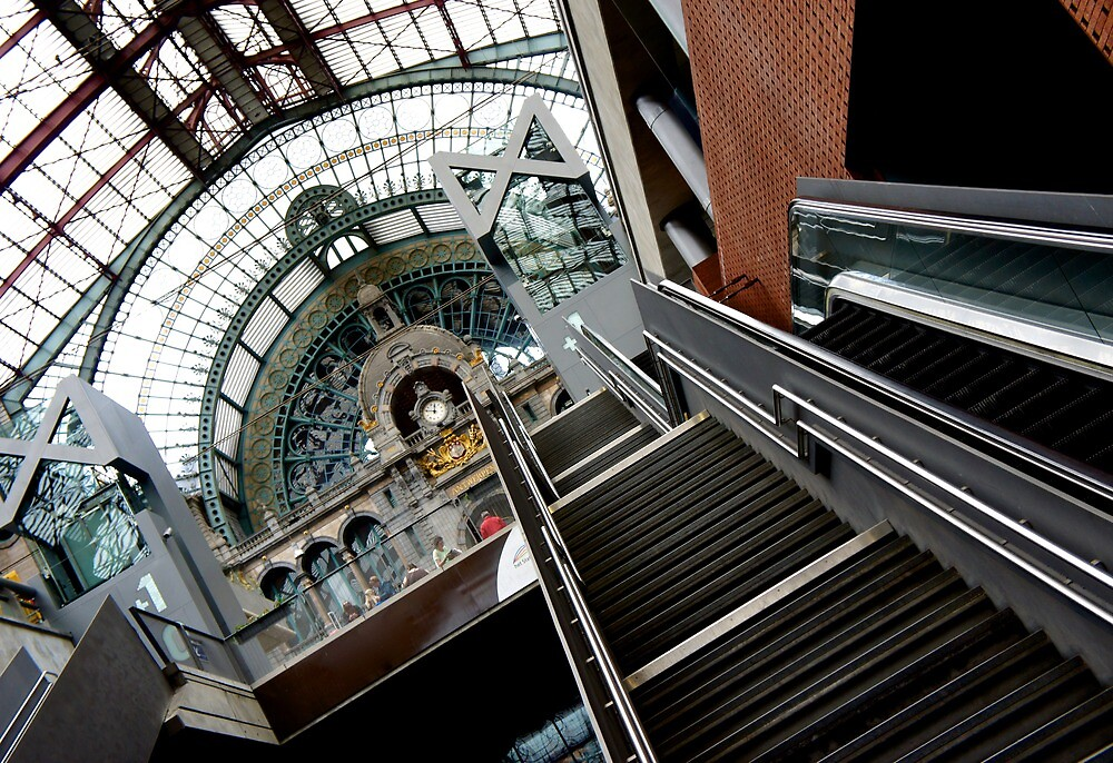 Antwerp Central Station by PlanetFranck