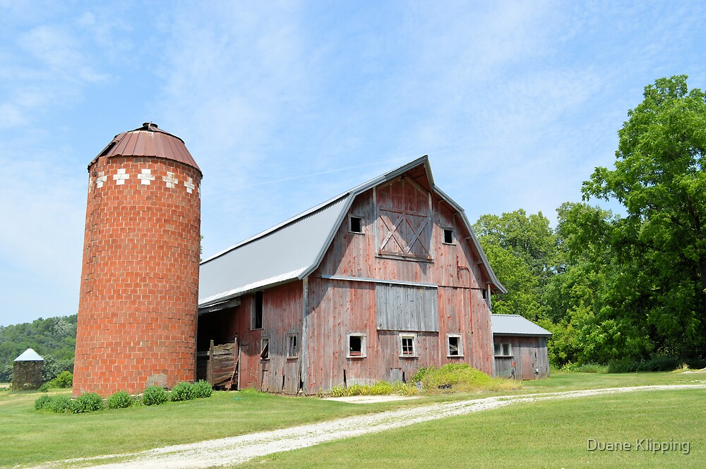 Old Barn 8008 by Duane Klipping