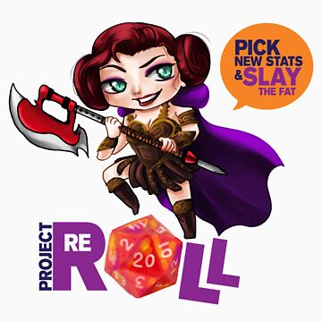 Project Reroll Apparel and Stickers by ProjectReroll