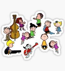 A Charlie Brown Christmas Dance Sticker