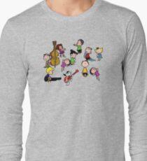 A Charlie Brown Christmas Dance Long Sleeve T-Shirt