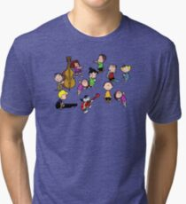 A Charlie Brown Christmas Dance Tri-blend T-Shirt