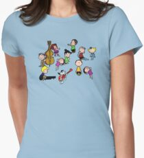 A Charlie Brown Christmas Dance Women's Fitted T-Shirt