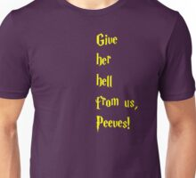 Give her hell Unisex T-Shirt
