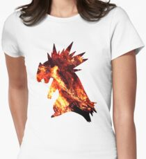 Typholsion used inferno Women's Fitted T-Shirt